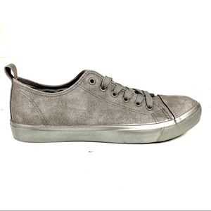 MAURICES NWOT Grey Slight Silver Sparkle Sneaker